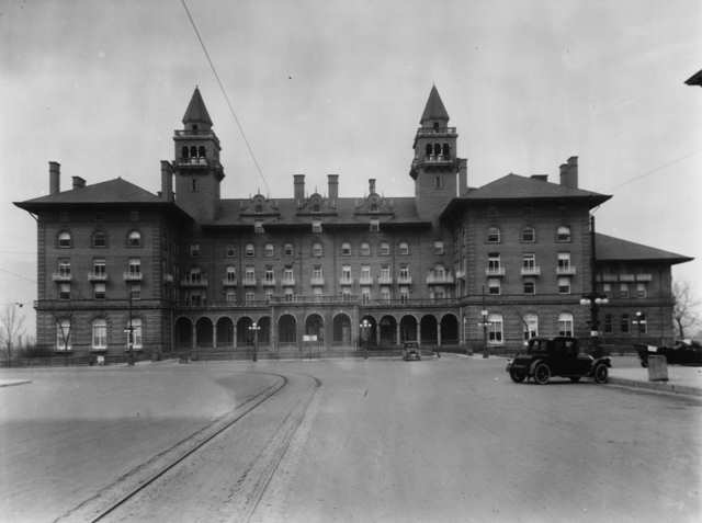 Historic Antler Hotel Colorado Springs