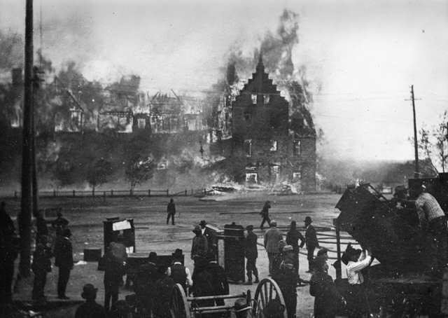 Antler Hotel Fire