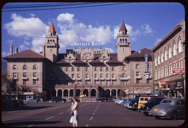 Antler Hotel Colorado Springs 1952