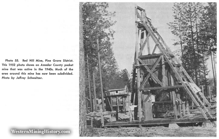 Red Hill Mine, Pine Grove District