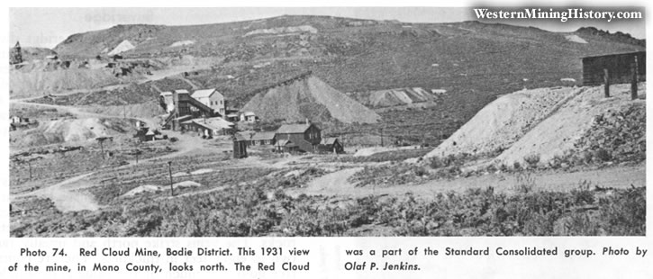 Red Cloud Mine, Bodie District