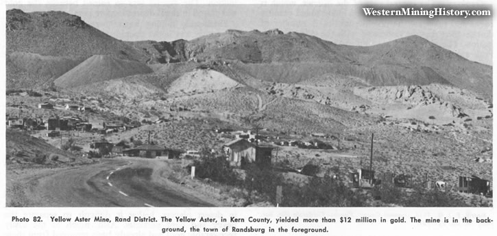 Yellow Aster Mine, Rand District