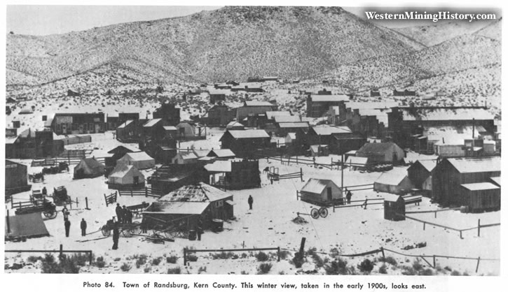 Town of Randsburg, Kern County