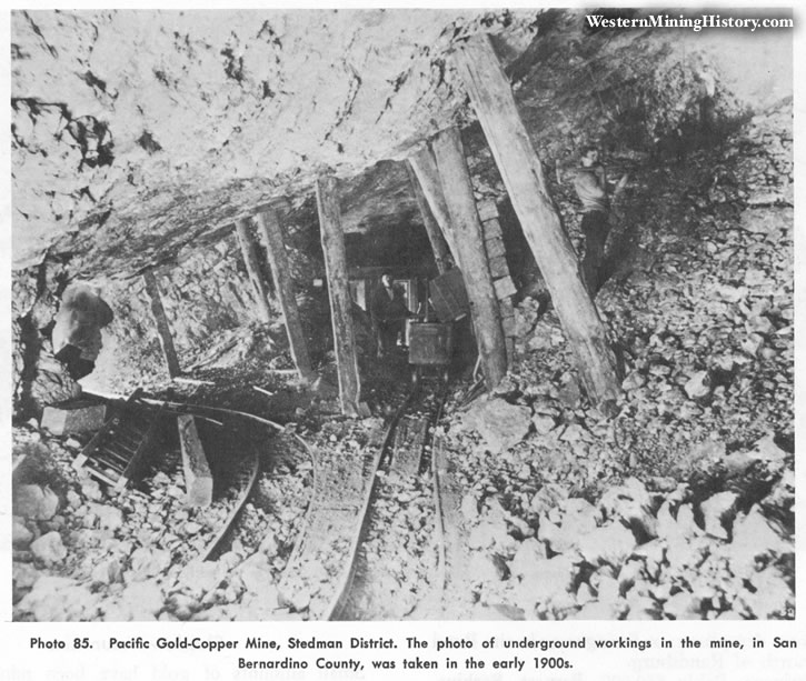 Pacific Gold-Copper Mine, Stedman District