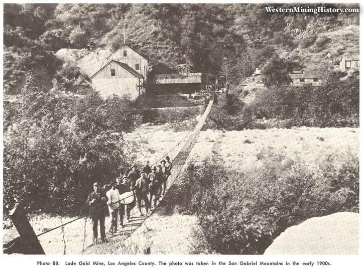 Lode Gold Mine, Los Angeles County