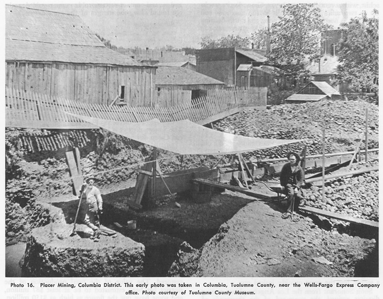 Placer Mining, Columbia District