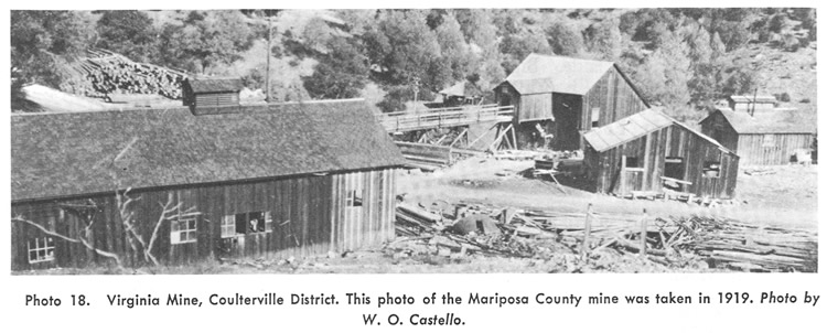 Virginia Mine, Coulterville District