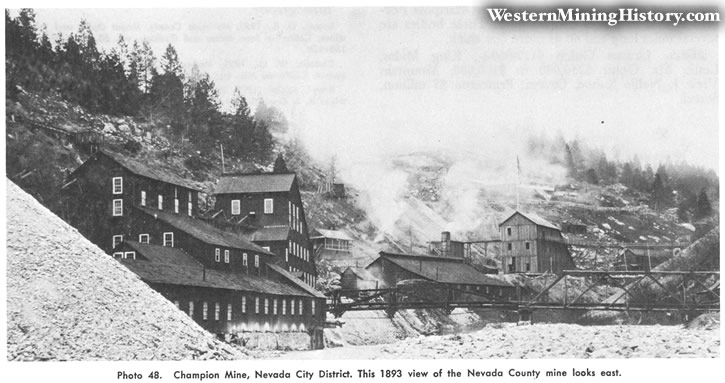 Champion Mine, Nevada City District