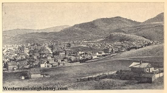 Helena Montana 1888