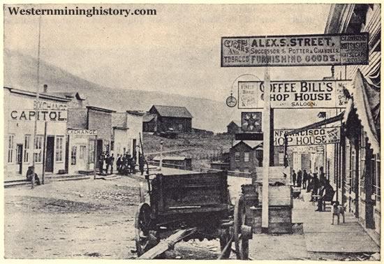 A Street Scene in Wickes