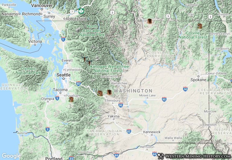 Washington mining towns