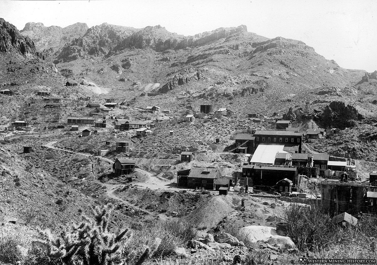 Mines of Oatman, Arizona 1921
