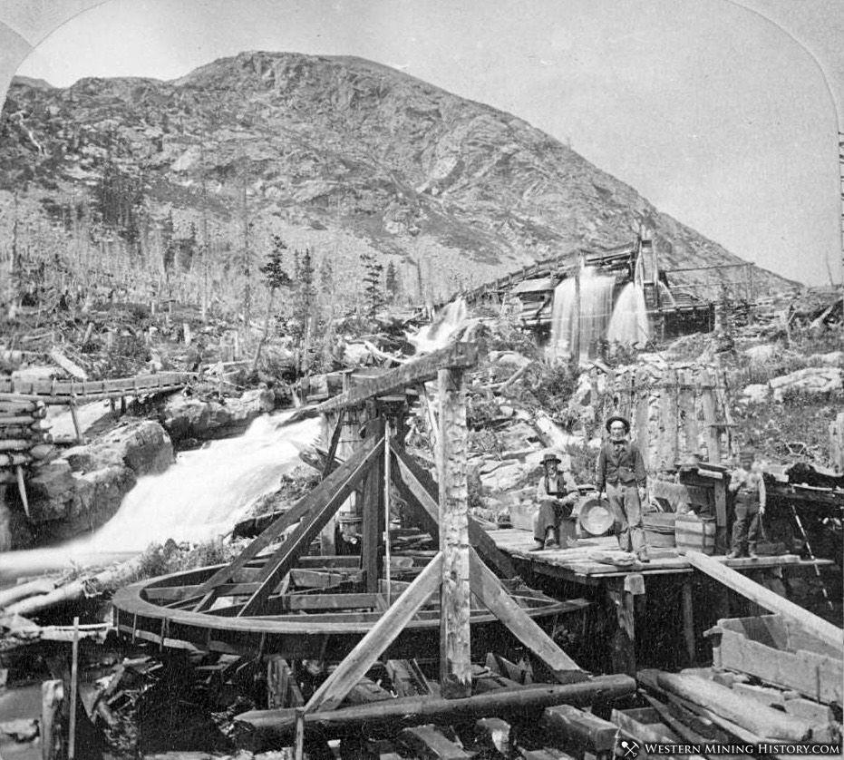 1860s Montgomery, Colorado arrastra