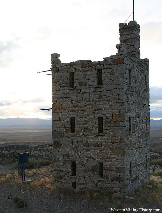 Stoke Castle - Austin Nevada