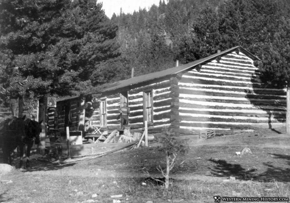 Mrs. Harper's cabin in Alice, Colorado 1904