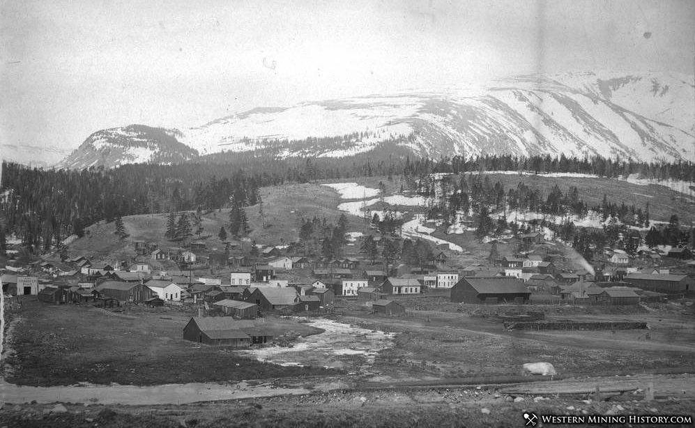 View of Alma Colorado ca. 1880