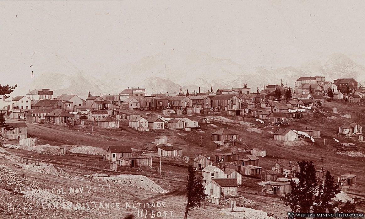 Altman Colorado November 1897
