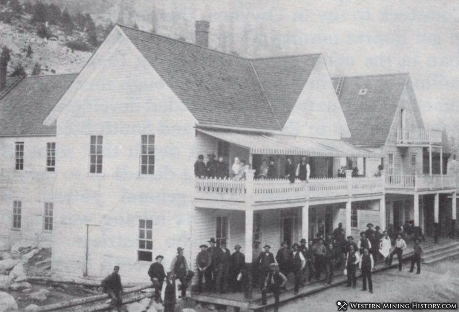 Alturas Hotel - Rocky Bar Idaho 1890