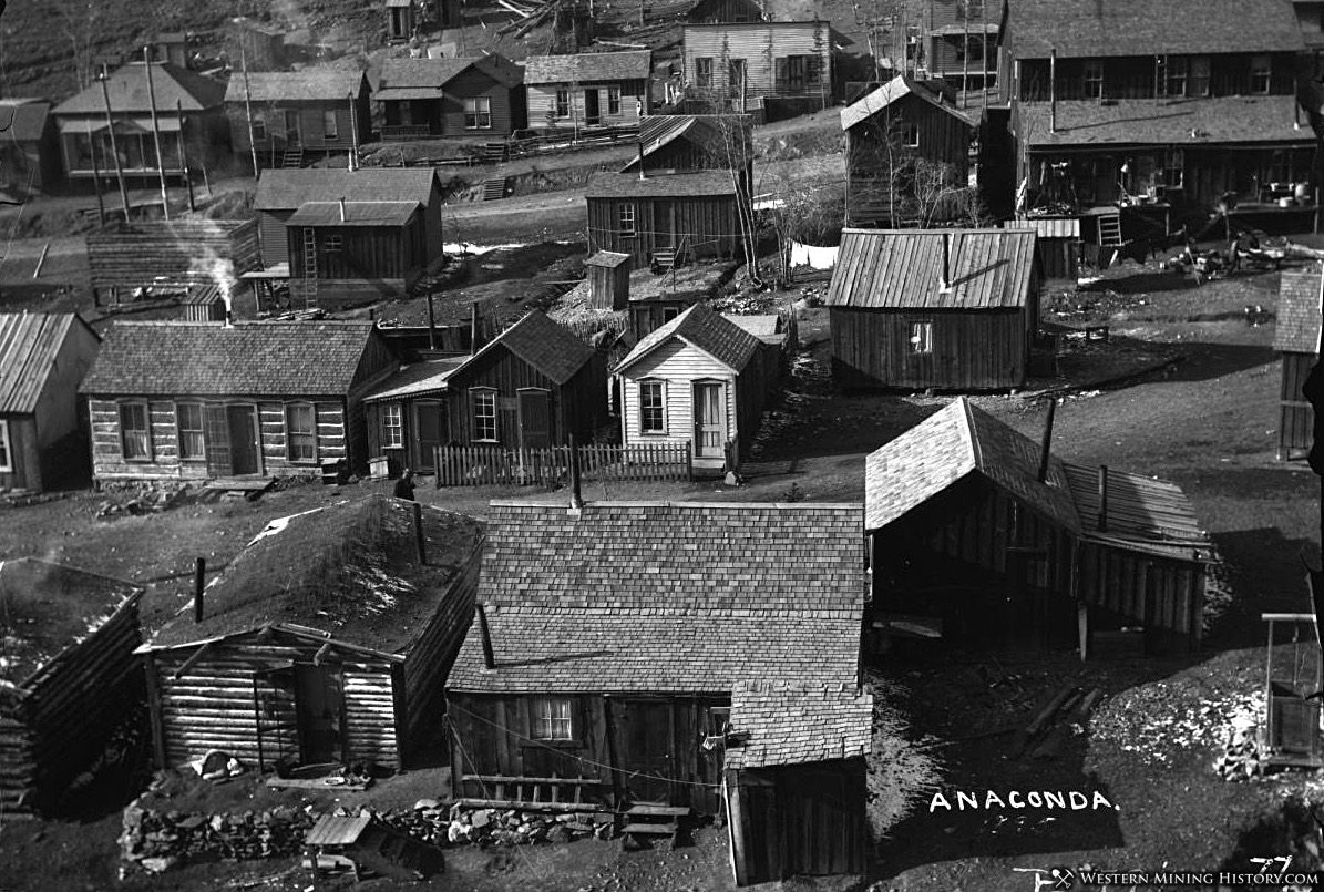 Anaconda, Colorado ca 1900