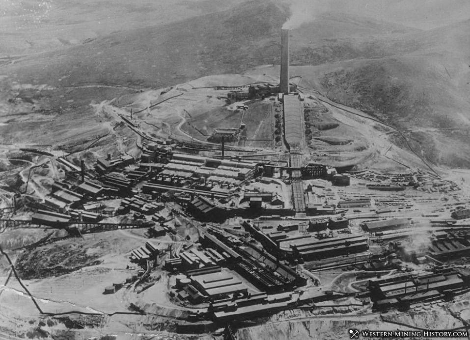 Washoe Smelter - Anaconda, Montana