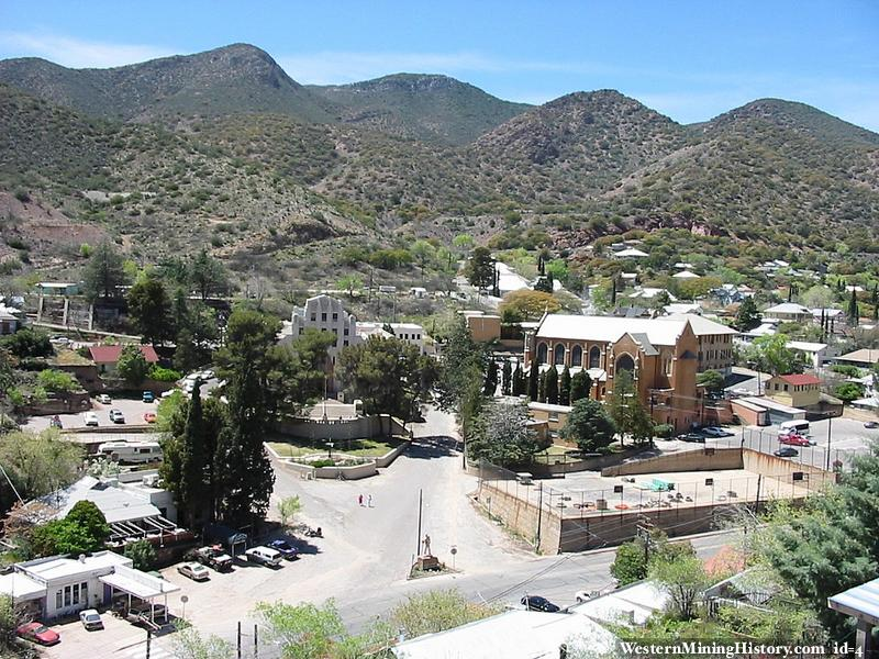 Modern view of Bisbee