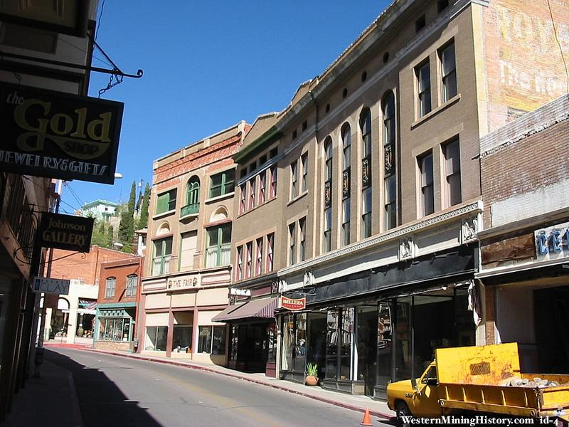 Main Street in Bisbee
