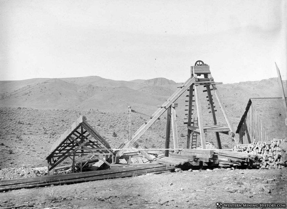 Oregon King Mine - Ashwood Oregon 1901