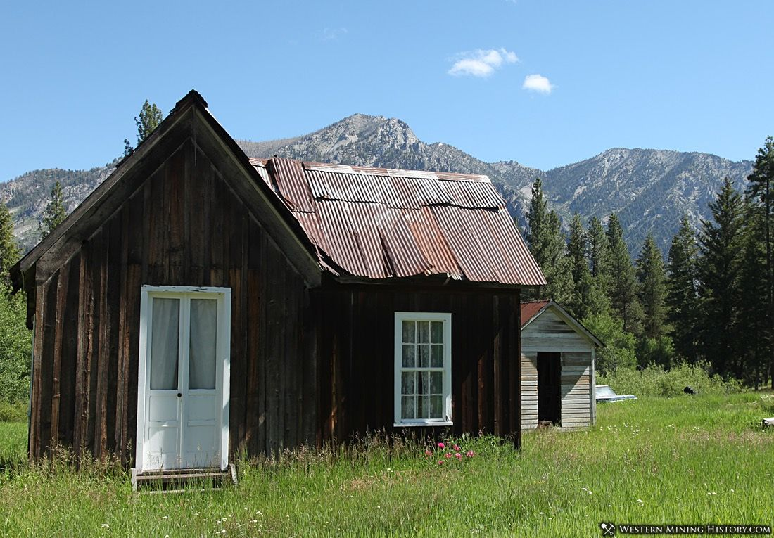 Cabin at Atlanta, Idaho
