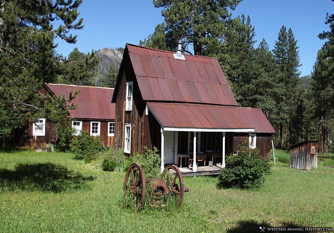 Historic home at Atlanta Idaho