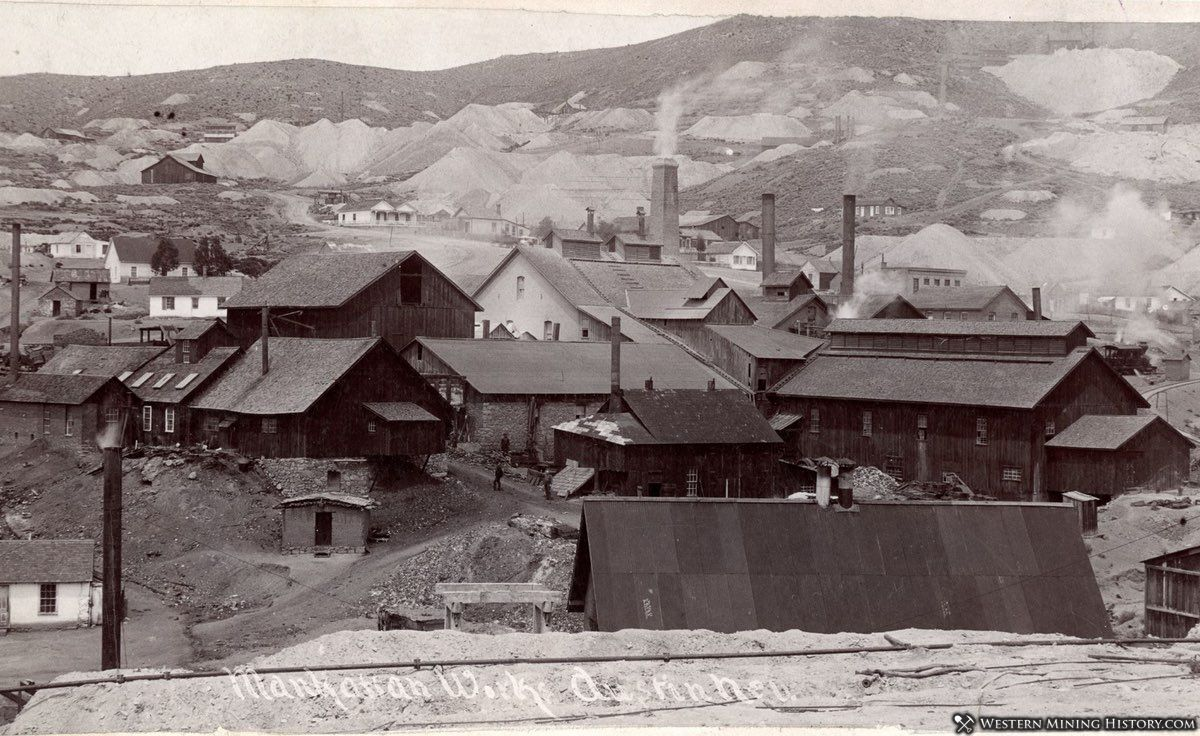 Manhattan Works at Austin Nevada ca. 1880s