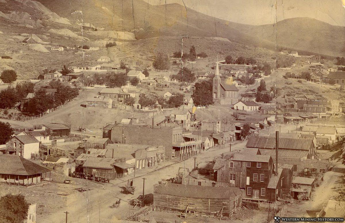 View of Austin Nevada ca. 1880