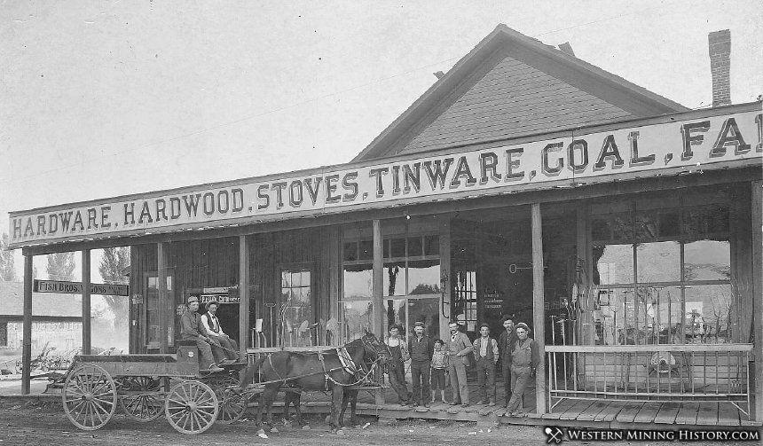 McCord Brothers Hardware - Baker City Oregon 1895