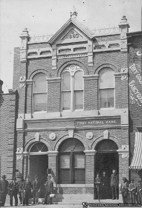 First National Bank - Baker City, Oregon ca. 1890s