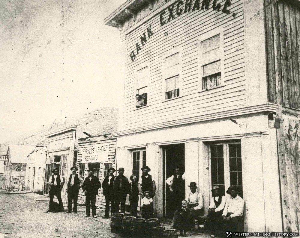 Bank Exchange Saloon at Bannack Montana