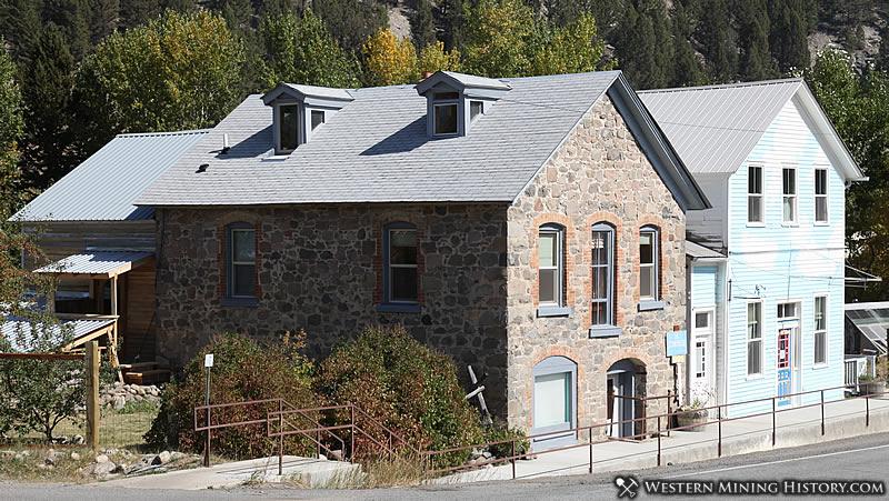Historical buildings at Basin Montana