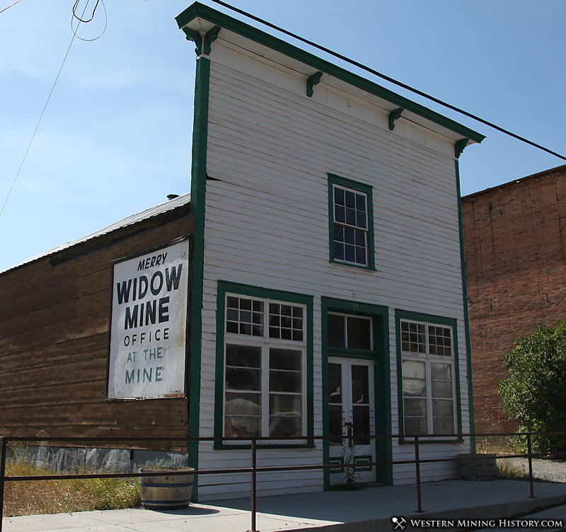 Historical building at Basin Montana