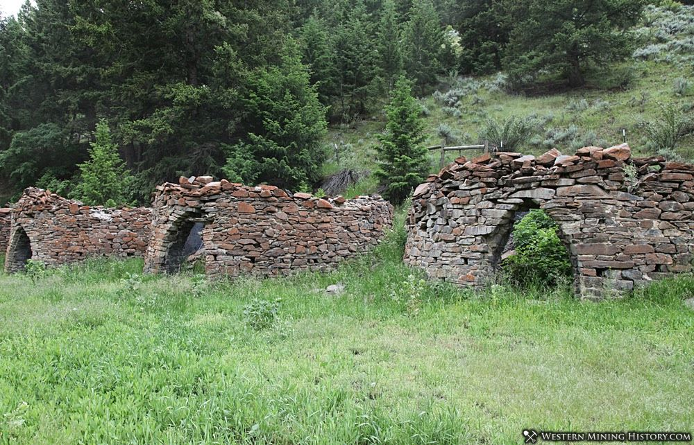 Charcoal Kilns at Bayhorse, Idaho