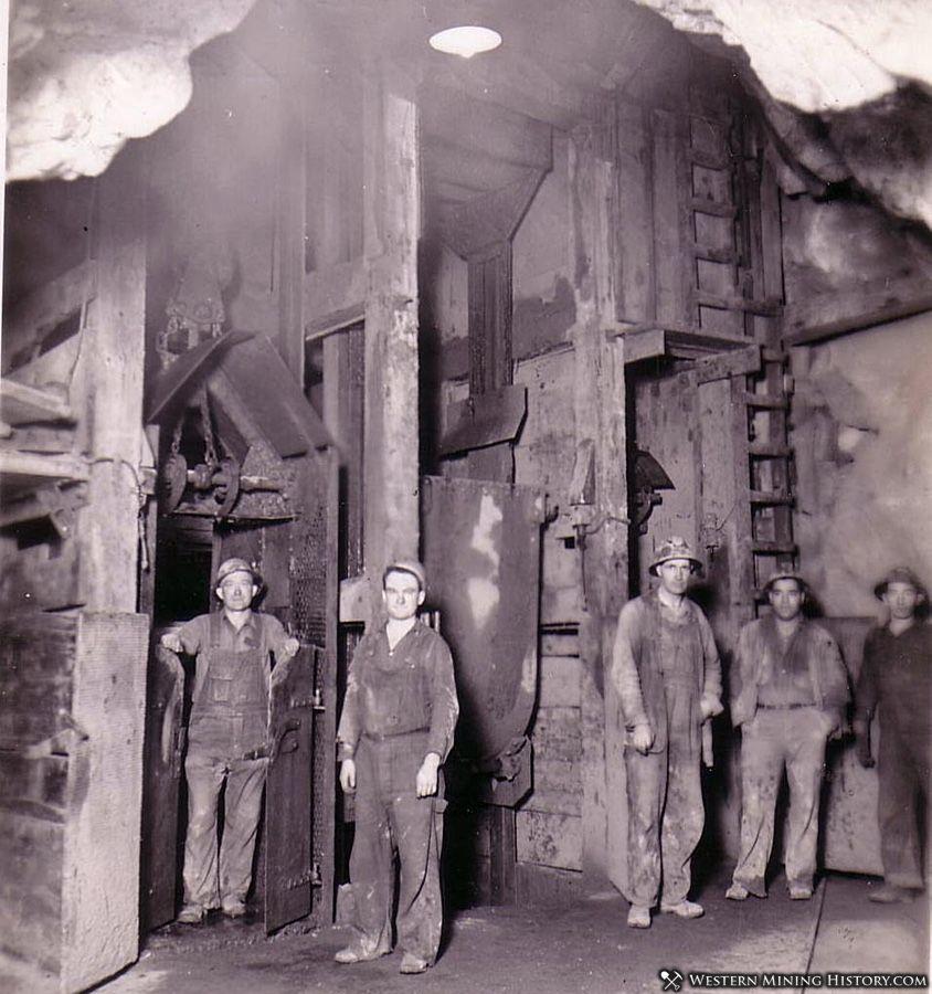 Miners in the US Mine - Bingham Utah ca. 1930