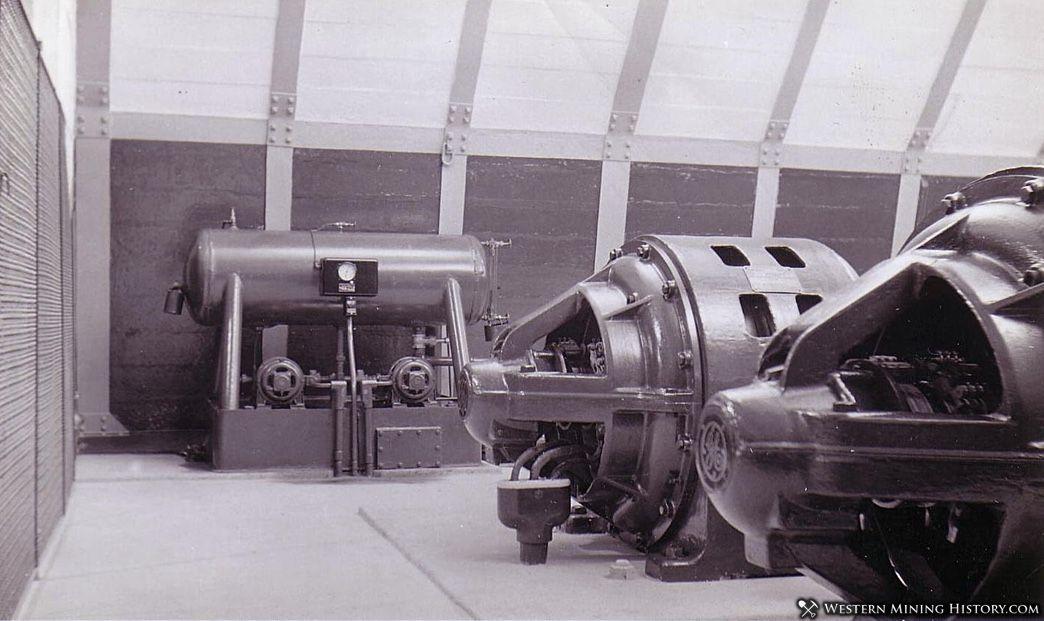 New hoist US mine- Bingham Utah ca. 1930