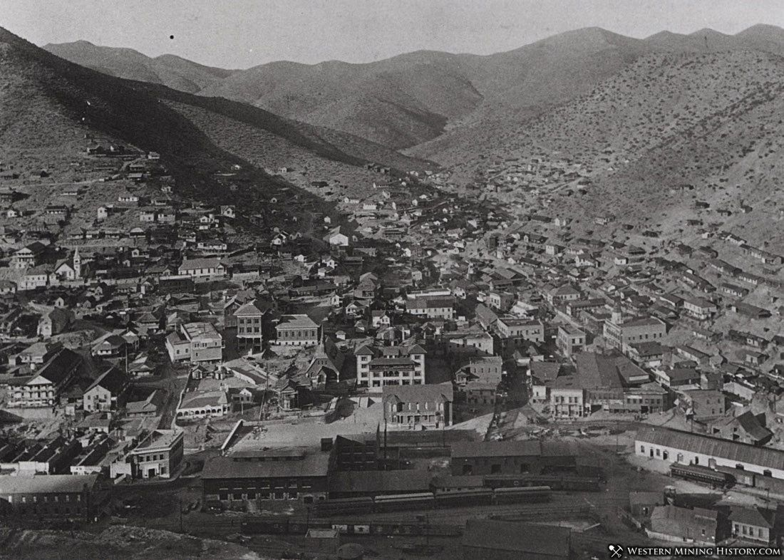 View of Bisbee ca. 1910