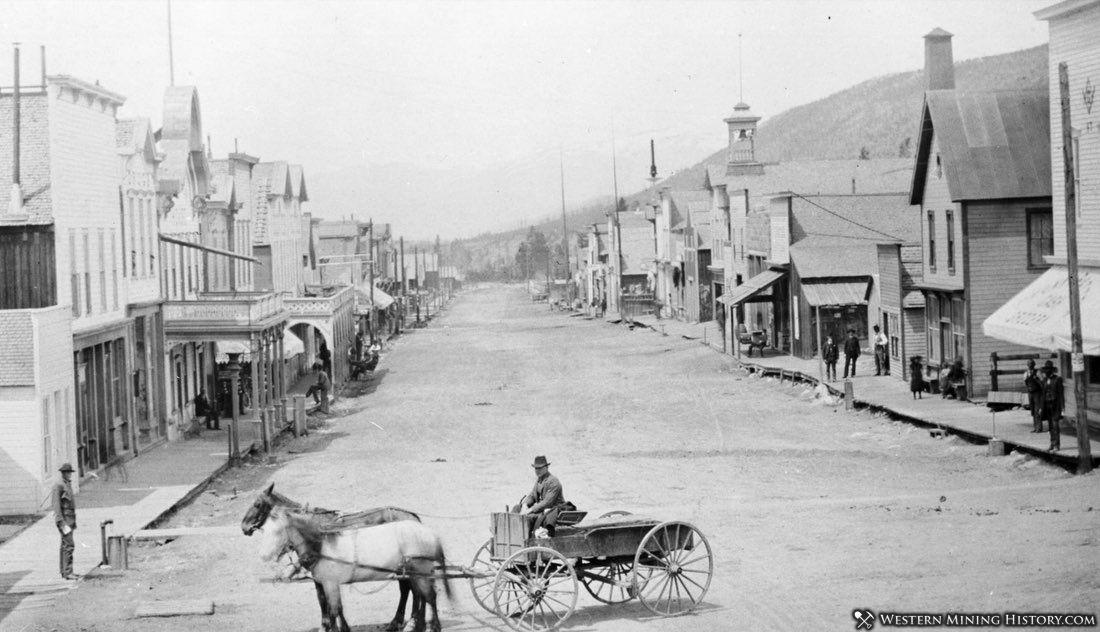 Main Street - Breckenridge Colorado ca. 1889