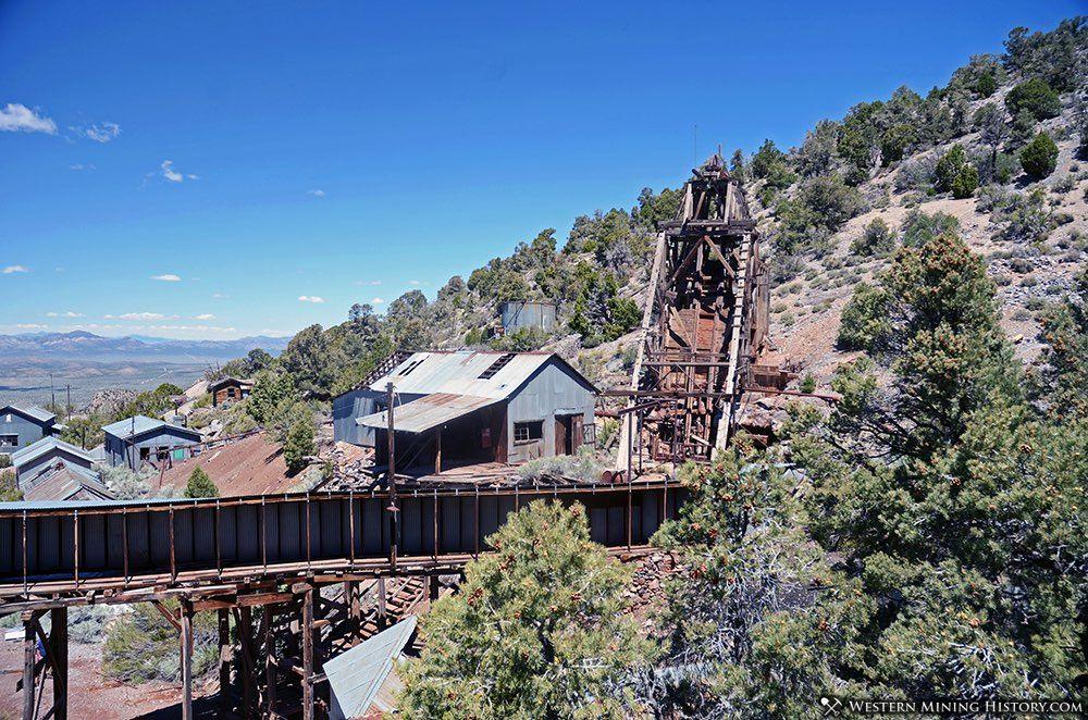 Mine buildings at Bristol Nevada