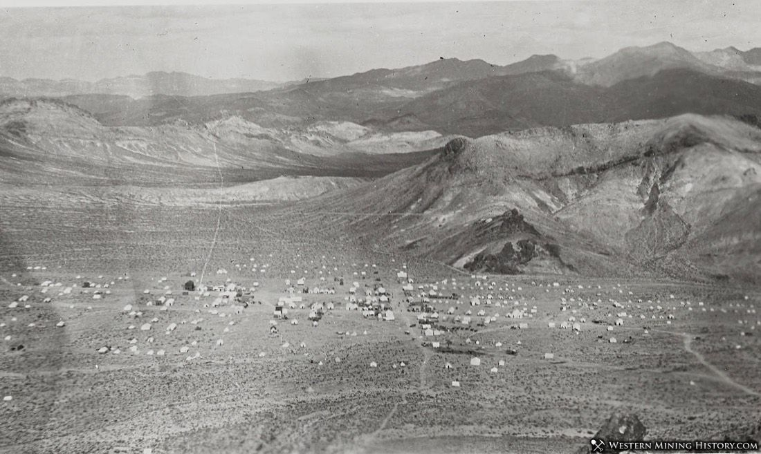 View of Bullfrog, Nevada ca. 1905