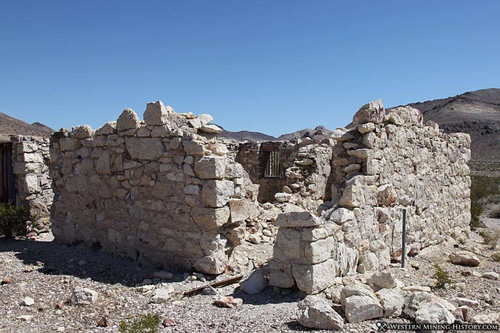 Remains of the jail at Bullfrog