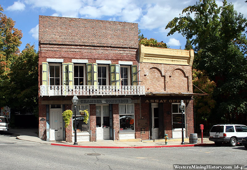 South Yuba Water Company building Nevada City
