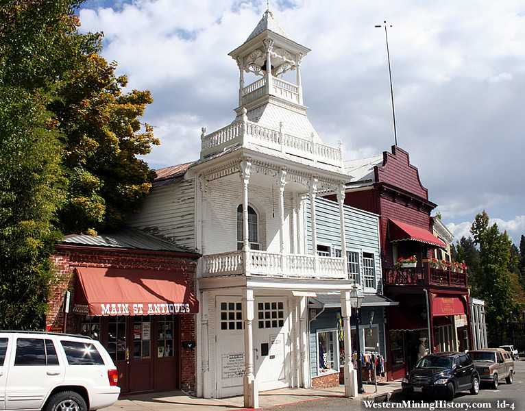 Firehouse Number One in Nevada City