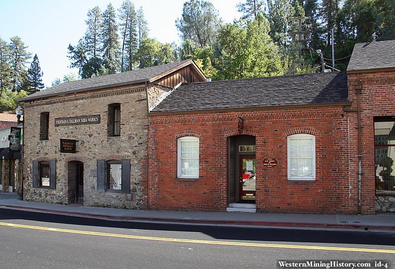 Fountain Tallman Soda Works - Placerville California