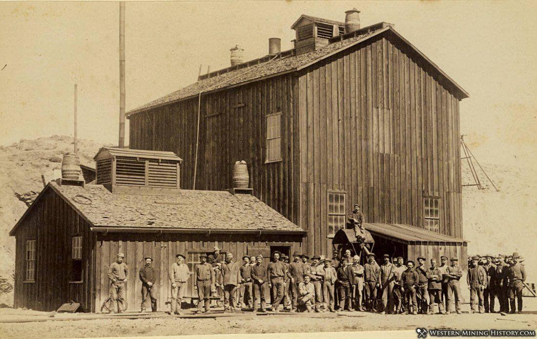 Mount Diablo mine crew - Candelaria, Nevada ca. 1900