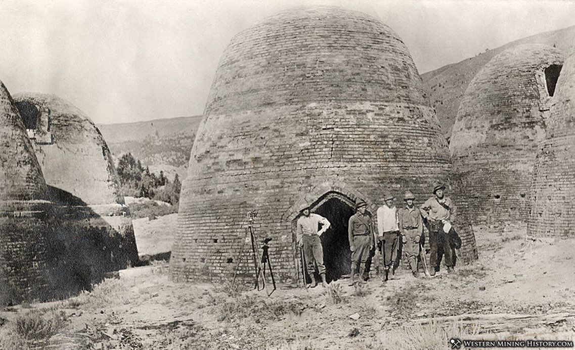 Canyon Creek Charcoal Kilns ca. 1910