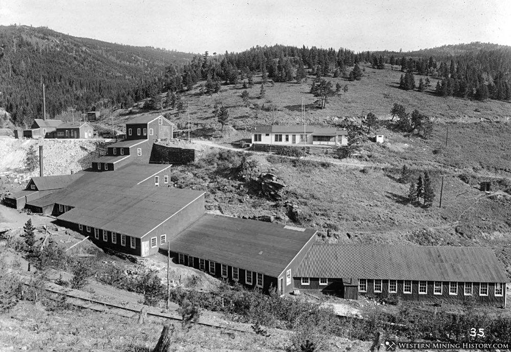 Mine buildings at Cardinal, Colorado